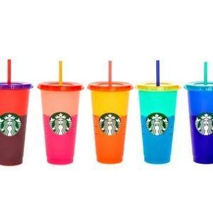 SINGLE Starbucks color changing cup